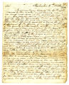 Letter, James Edgar (Kaskaskia, Indiana Territory) to Governor William Henry Harrison, 4 October...