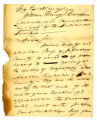 Letter, William McFarland (Vincennes) to Governor William Henry Harrison, 15 December 1811