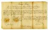 Appointment of Colonel George Hunt to Administer Oaths of Office to Civil and Military Officers in...
