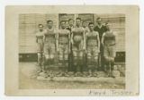 Smithville Basketball Team 1917 Coached by John Adams