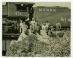 Group Portrait of Monon Railroad Workers