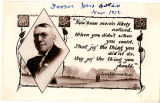 Postcard of James Whitcomb Riley Poem, 1912