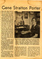 Mrs. Wilson talks of Gene Stratton Porter-2