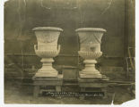 Urns for building, Des Moines, IA