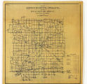 Map of Henry County Indiana Showing Rural Delivery Service