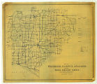 Map of Warrick County Indiana Showing Rural Delivery Service