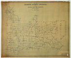 Map of Greene County Indiana Showing Rural Delivery Service
