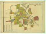 Anderson, Indiana Real Estate Map