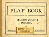 Plat book of Marion County, Indiana