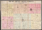 Map of Tipton County, Indiana, 1903