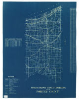 Map of Porter County. Road