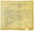 Map of Switzerland County Indiana Showing Rural Delivery Service