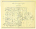 Map of Fulton County Indiana Showing Rural Delivery Service