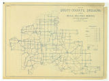 Map of Scott County Indiana Showing Rural Delivery Service