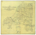 Map of Starke County Indiana Showing Rural Delivery Service