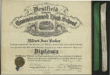 High School Diploma of Mildred Barker