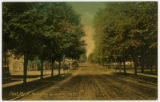 Kearsley Street, Flint, Michigan postcard