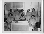 1st Sgt. and Non-coms of the African-American WACs