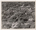 Aerial view of Frankfort, Indiana