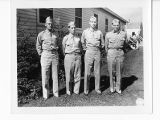 Maj. Schweickart, Capt. Hopkins, Lt. Tayc and Lt. Mohr