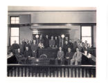 Swearing in of City Officials, Huntington, Indiana January 1, 1952