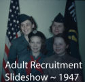 Adult Recruitment Agenda and Slide Show