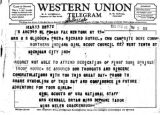Western Union Telegram DEA413 BD572