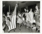 Flag Ceremony, 1960's