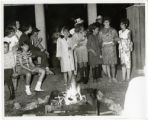 Camp, Around the Camp Fire, 1960's