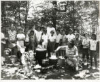 Camp, Outdoor Cooking Demo, 1960's