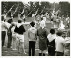Camp, Flag Ceremony, 1960's