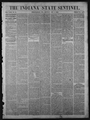 Indiana State sentinel (Indianapolis, Ind.) 1861-1865