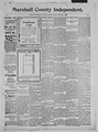Marshall County independent (Plymouth, Marshall County, Ind.) 1897-1902