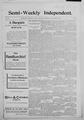 Semi-weekly independent (Plymouth, Marshall County, Ind.) 1895-1897