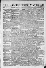 The Jasper Weekly Courier (Jasper, Indiana 1858-1922)