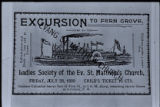 629. Excursion Ticket, 1899