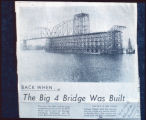 235. Big 4 Bridge Construction, 1891