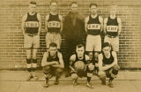 English High School basketball  team, 1920