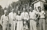 Roberts Family and Clyde Monroe