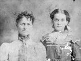 Matilda Benham and Mattie Moore