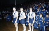 FHS Basketball Team, Cheerleaders, Band, 1959.