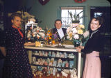 Betty Lou Flower Shop: (l-r) unknown; John Switzer; Jane Ann (Moses) Switzer, John's wife