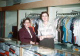 Sales Clerks at Adler's: Joan Myers & Merrilyn Daniels (possibly)