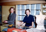 Sales Clerks at Adler's: Unknown; Marna Lou (Marshall) White (right)