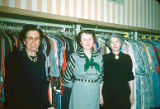 Sales Clerks at Adler's: (l-r) Mabel Timmons, Lena Fitzgerald & Mary Woods (possibly)