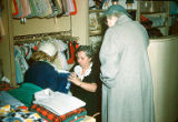 Unknown Sales Clerk & Customers at Adler's Children's Department