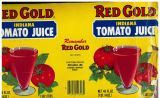 Can label for Indiana Tomato Juice