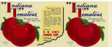 Can label for Indiana Tomatoes