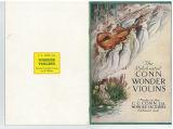The celebrated Conn wonder violins