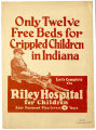Only twelve free beds for crippled children in Indiana